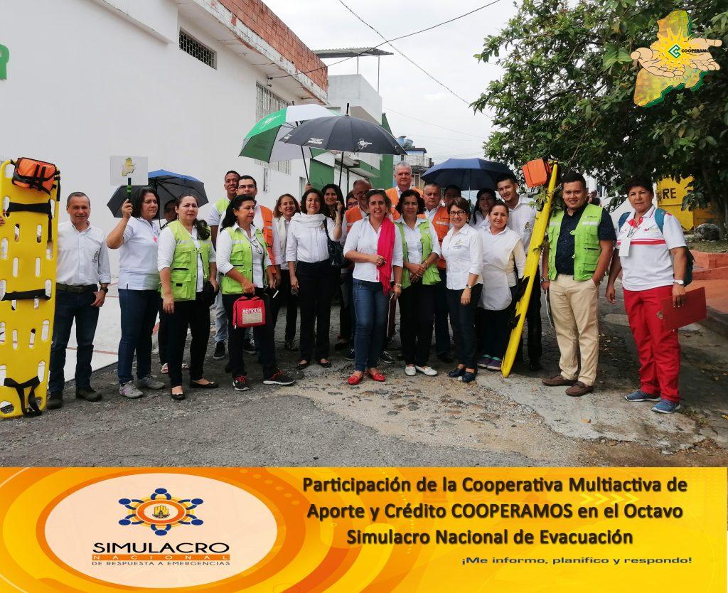 PARTICIPACIÓN EN EL OCTAVO SIMULACRO NACIONAL DE EVACUACIÓN